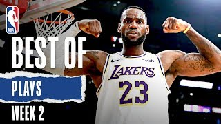 NBA's Best Plays From Week 2 | 2019-20 NBA Season