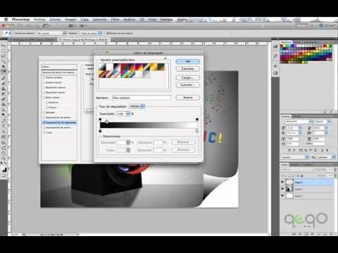 efecto de papel doblado en illustrator