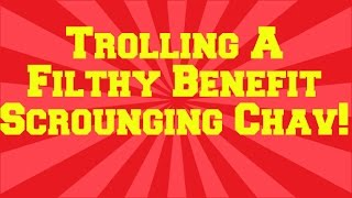 Queer Of Duty: Trolling A Benefit Scrounging Chav [HD]