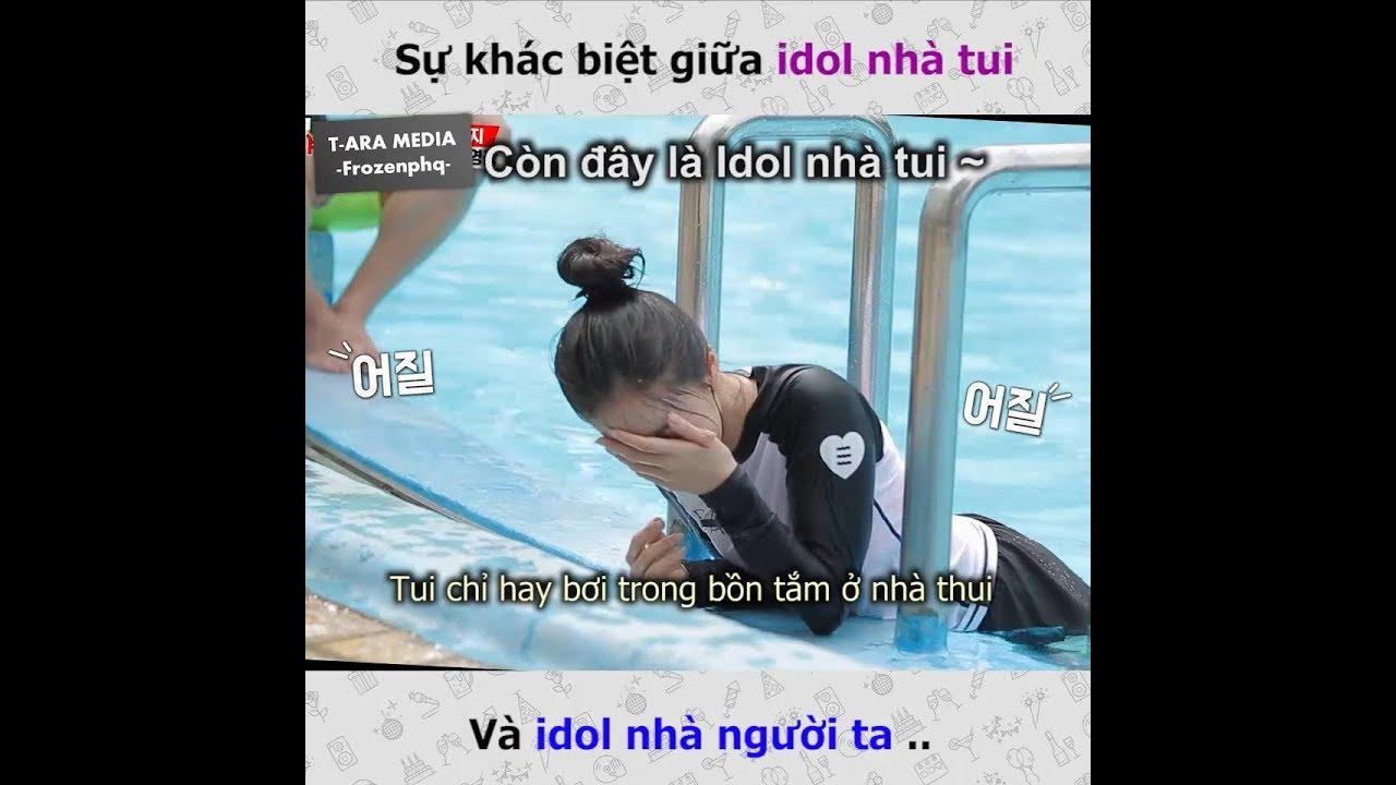 [T-ARA MEDIA] Sự khác biệt giữa Idol nhà tui và idol nhà người ta