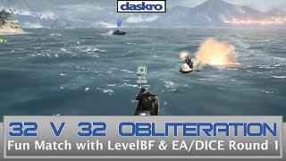 32 vs 32 DICE/EA Obliteration on Hainan Resort Part 1