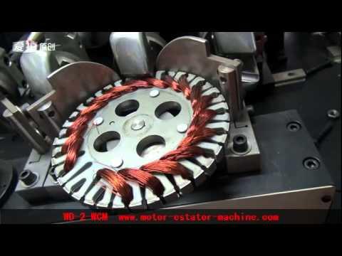 Ceiling Fan Stator Winding Machine Youtube