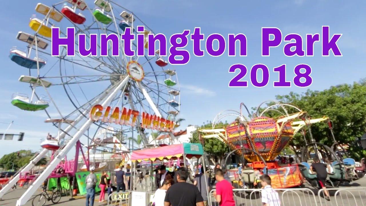 Huntington Park Christmas Parade 2020 Huntington Park Spring Fair 2018   YouTube
