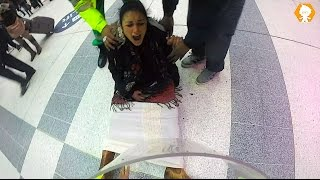 Woman Gives Birth in Public Prank