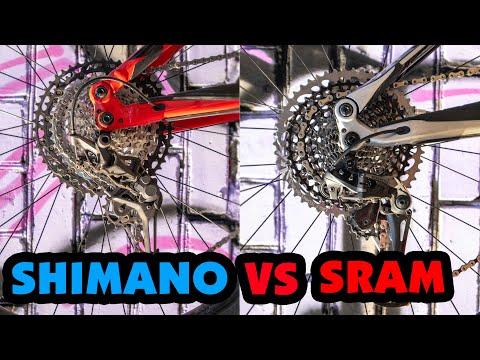 SRAM X01 EAGLE VS SHIMANO XT M8100 ЧТО ЛУЧШЕ?