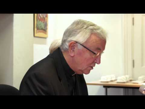 Cardinal Vincent Nichols Speaks to Journalists about the Family Synod