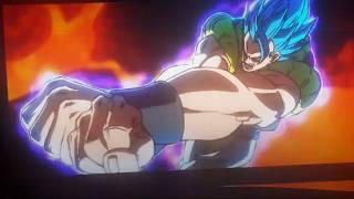 Dragon Ball Super: Broly the Movie | Gogeta SSB VS Broly (Full Power Super Saiyan)