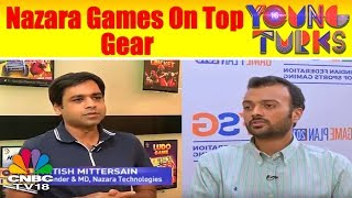 YOUNG TURKS | Nazara Technologies: Leading the Mobile Games Space | CNBC TV18