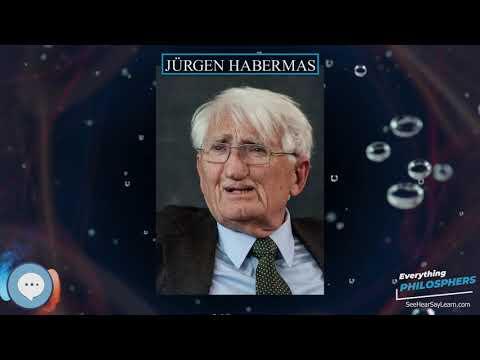 Jurgen Habermas Everything Philosophers Youtube