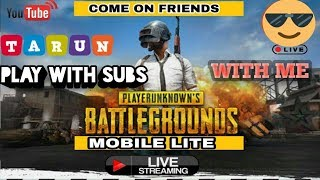pubg mobile lite live streaming in hindi | Live streaming of pubg mobile lite india|pubgmobile live