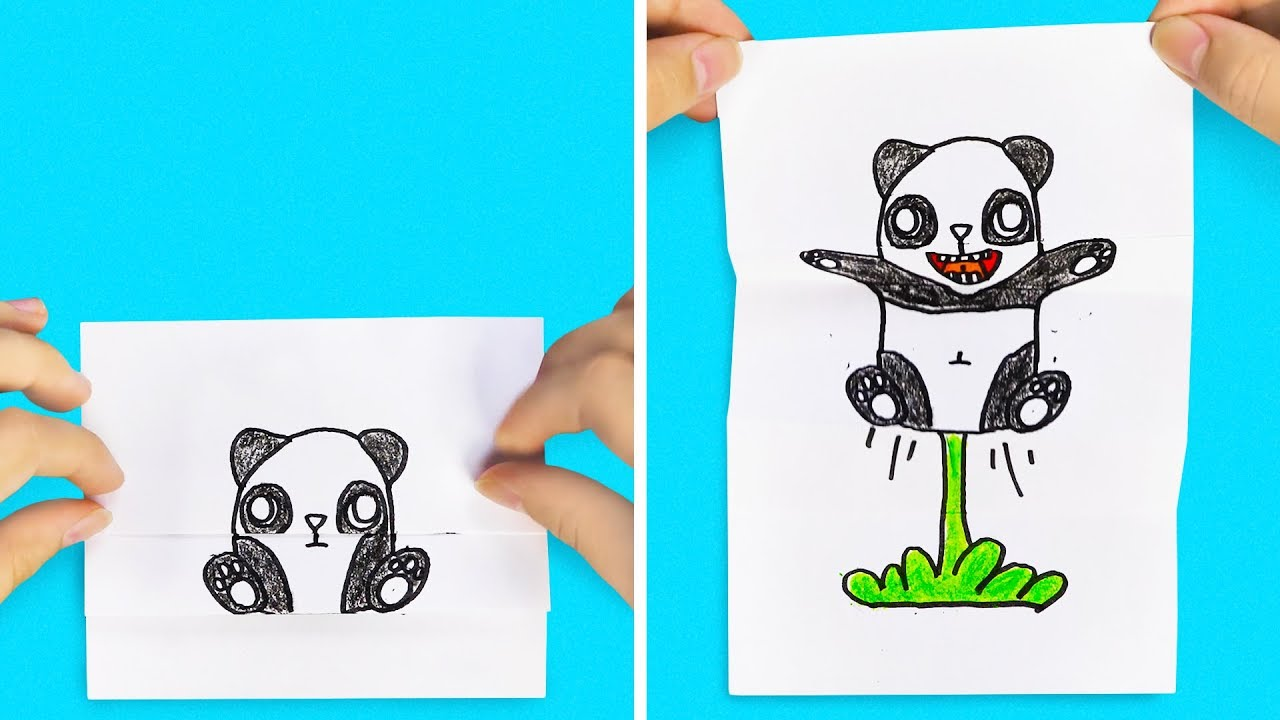 40 Wonderful Drawings You Can Make Yourself Youtube