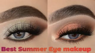 Best Summer Eye Makeup Tutorial 2021 Best Eyeshadow for Summer 2021 Eyemakeup Makeup youtube