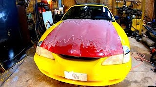 Copart 94 Ford Mustang GT Rebuild Pt 3