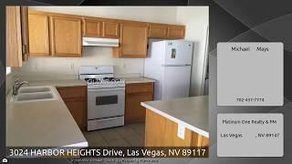 3024 HARBOR HEIGHTS Drive, Las Vegas, NV 89117
