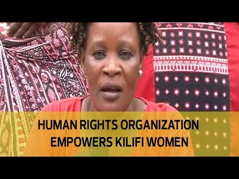 Human rights organization empowers Kilifi women