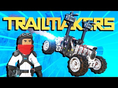 The AMAZING Flying ROCKET TRACTOR! - Trailmakers Gameplay - Multiplayer
