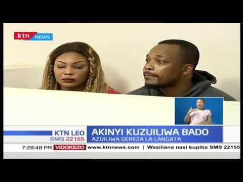 Akinyi kuzuiliwa katika gereza la Langata