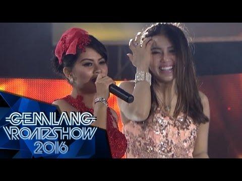 """Via, Vicky Shu, Duo Racun Youbi Sister, Ghea """" Kata Pujangga """" - Gemilang Roadshow Banyumas (27/2)"""