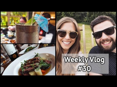 Cocktail Making & Hestons | xameliax Weekly Vlog #30