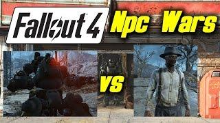 Video Fallout 4 Giant NPC War - Annihilator Sentry Bots vs Triggerman Army download MP3, 3GP, MP4, WEBM, AVI, FLV Juni 2017