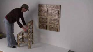 Wallpaper Folding Chair