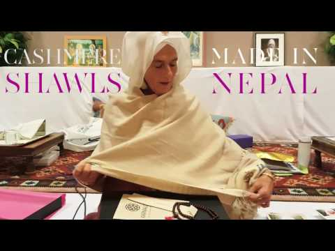 #Karmalove Experiences: Gurmukh and her Karmalove shawl