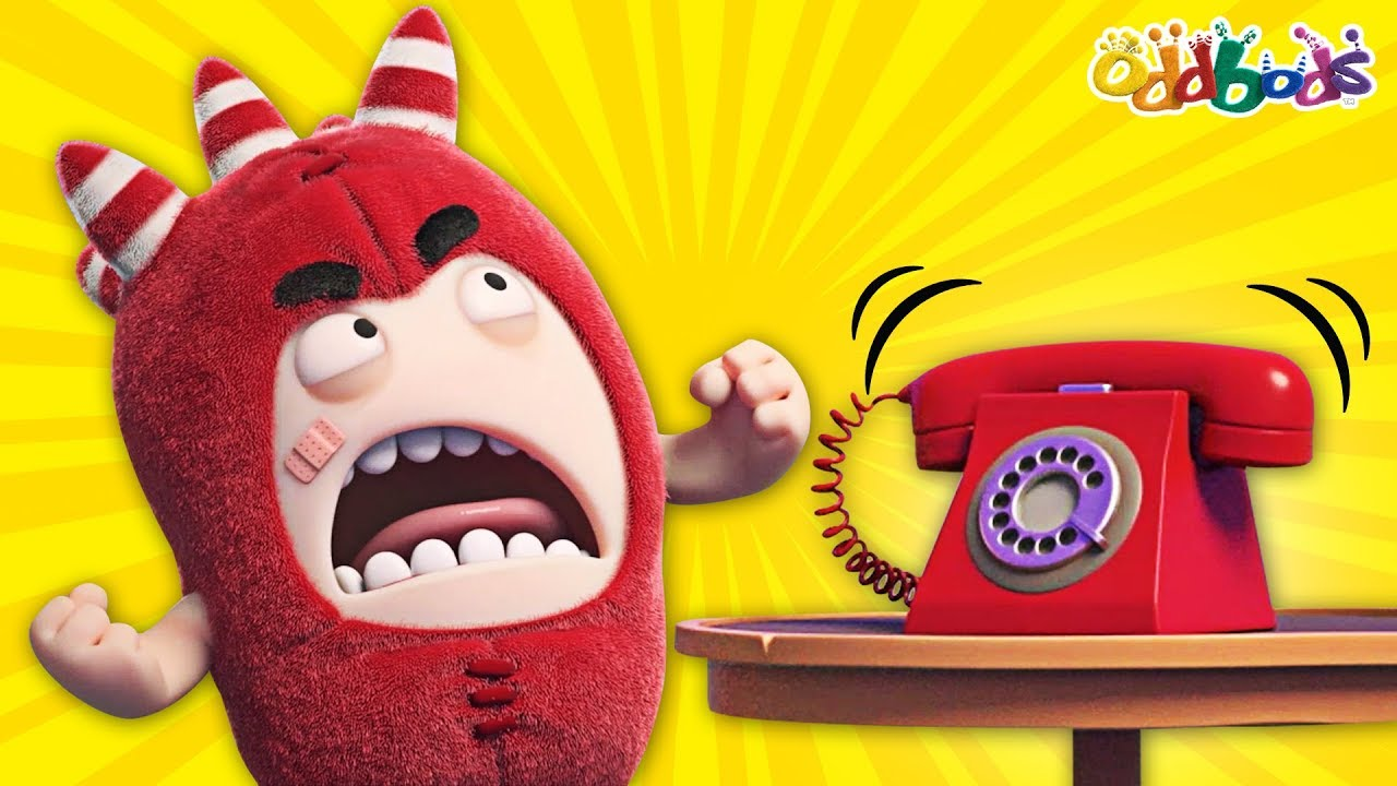 Oddbods | PRANK CALL | NEW | Funny Cartoons For Children