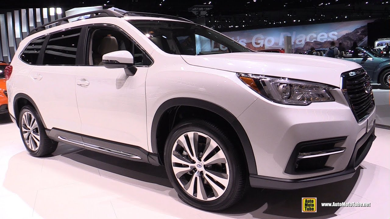 2019 Subaru Ascent Exterior And Interior Walkaround Debut At