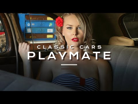 Lowrider Photo Shoot with Playboy Playmate