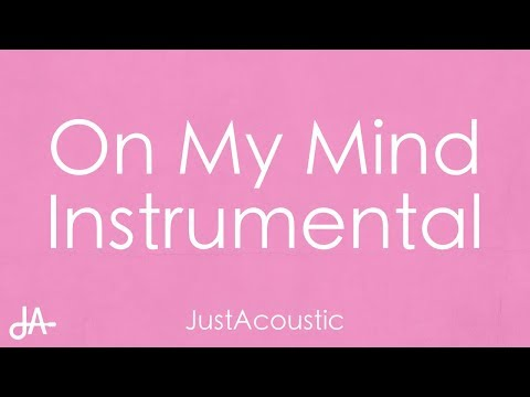 On My Mind - Jorja Smith (Acoustic Instrumental)