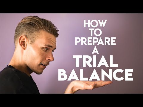 TRIAL BALANCE Explained (with a Full Example!) | Accounting Basics