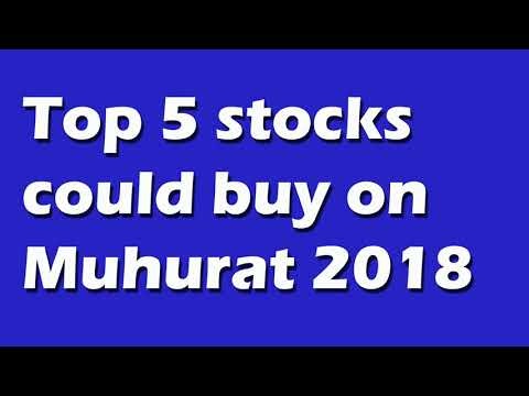Top 5 stocks buy on this Muhurat Trading of 2018