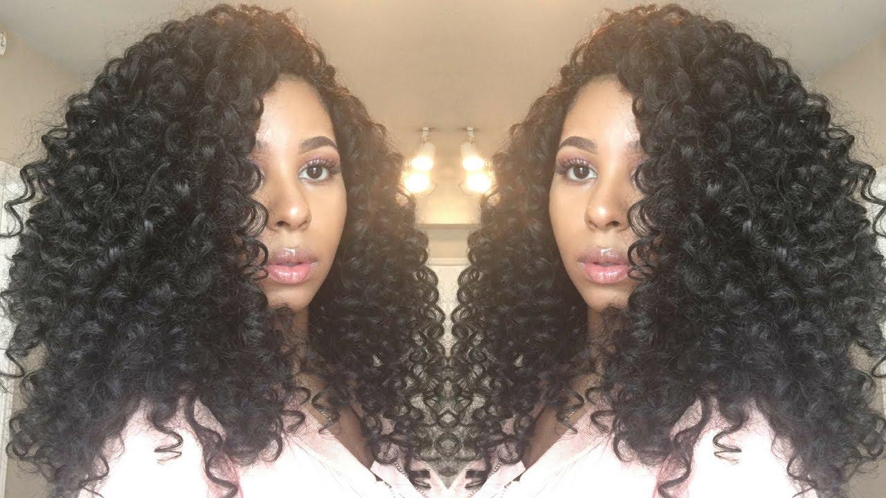 My Favorite Crochet Braid Hair Outre Bohemian Curl Update Youtube