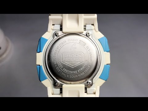 Whats Inside The GLS-5500 G-Shock Watch | MUD-RESISTANT Square