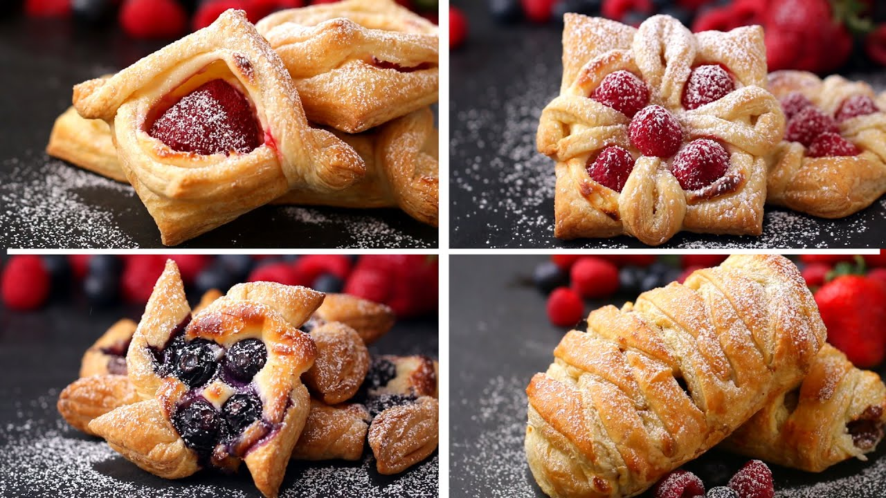 recipe: cream cheese puff pastry danish [31]