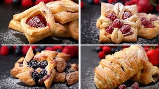 Puff Pastry 4 Ways(Here is what you'll need! RECIPE: Cream Cheese Filling INGREDIENTS 1 8-ounce block cream cheese ¼ cup granulated sugar ½ teaspoon vanilla extract ..., 2016-05-31T18:00:00.000Z)