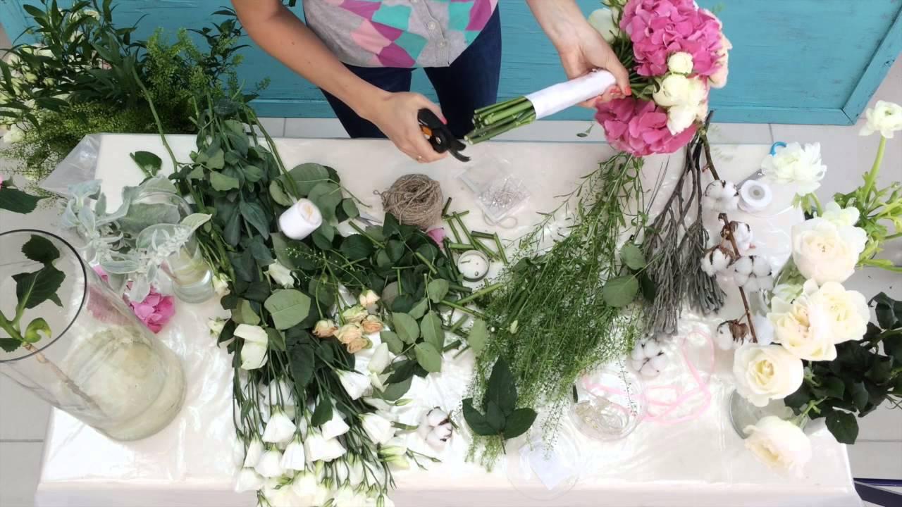 букет невесты фото своими руками