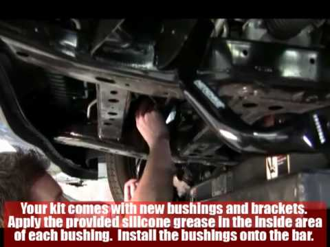 How To 2010 5th Gen Camaro Ss Hotchkis Front Sway Bar