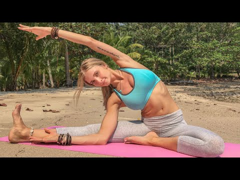 Easy Yoga For Beginners ♥ Full Body Gentle Flow