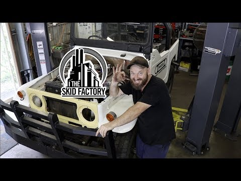 THE SKID FACTORY - 40 Series LandCruiser Unfinished Project [EP1]