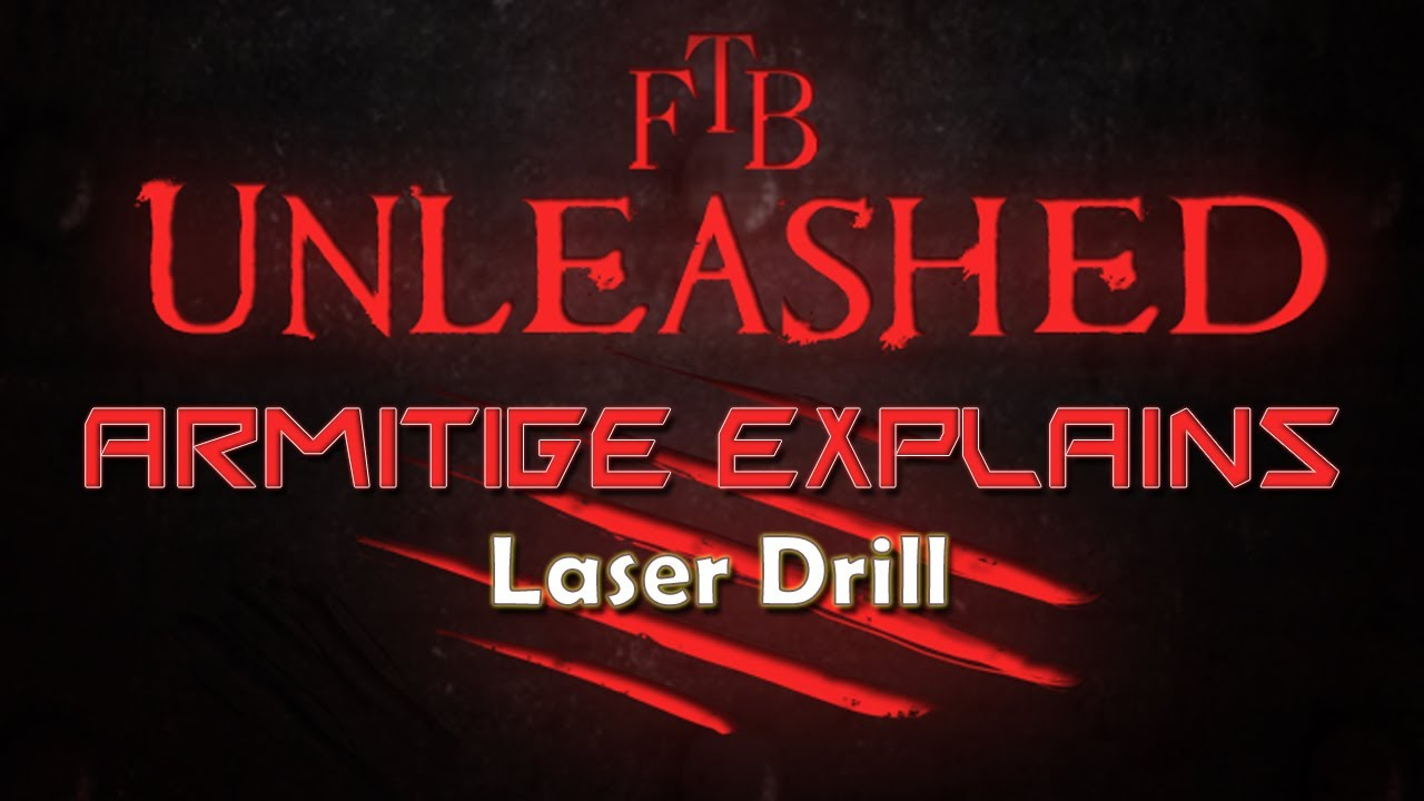 Laser Drill - Feed The Beast Wiki