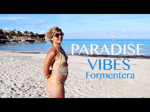 Ep 58 PARADISE VIBES Formentera Part 2. Cala Saona_Sabina Port