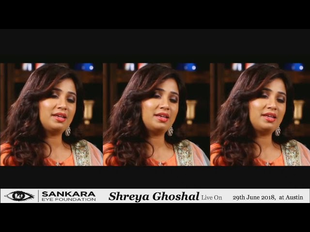 Shreya Ghoshal Live in Concert - Austin Texas on 29th June 2018.