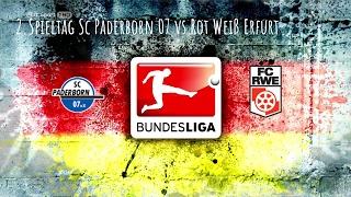 18.2.17 Sc Paderborn 07 vs Rot Weiß Erfurt