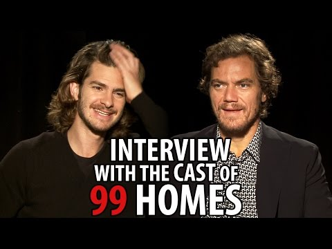 Andrew Garfield and Michael Shannon Talk The Drama '99 Homes'