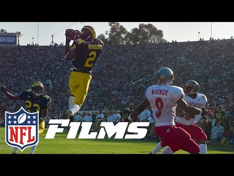 Charles Woodson Becomes Only Defenisve Player to Win the Heisman | NFL Films | A Football Life
