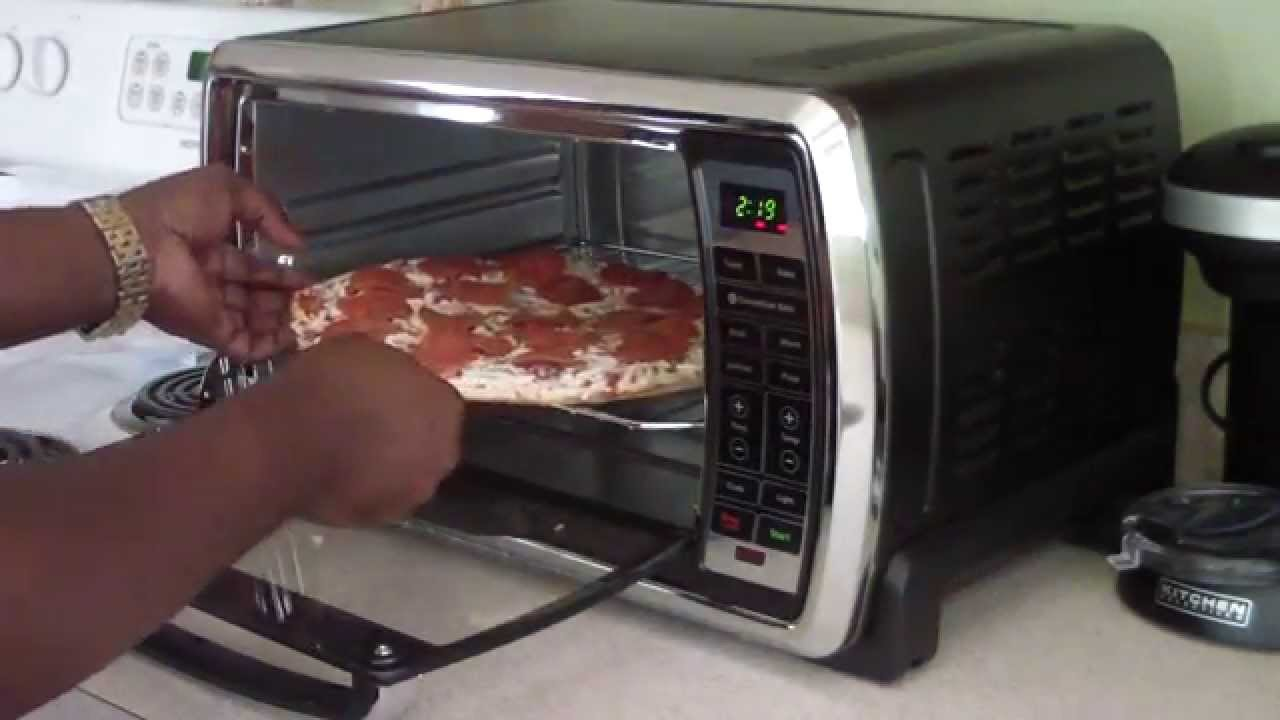 Large Capacity Countertop Convection Oven Food Network : ... Digital Large Capacity Toaster Convection Oven Review - YouTube