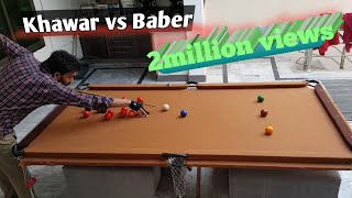 Snooker Table - Home made snooker table.