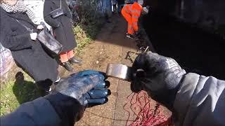 Found 2 More Weapons Magnet Fishing In London River fourseasonsmagnetfishing