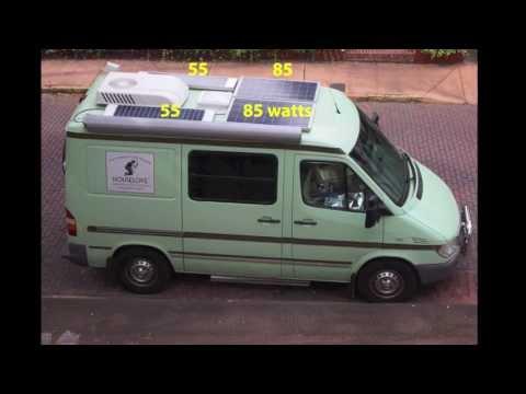 Custom Camper Van Conversion, Part 5: RV Electricity & Solar Power